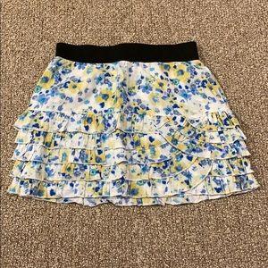 Jessica Simpson Floral Miniskirt